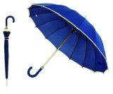 16의 늑골 똑바른 질 가장자리 우산 (YS-SM25163416R)