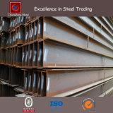 Poutres en double T en acier à laminage à chaud de la perfection Q235B de fer avec la pente JIS Ss400 Ss490