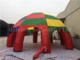 2016 대중적인 PVC에 의하여 주문을 받아서 만들어지는 팽창식 광고 돔 천막