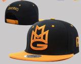 3D bordado con la etiqueta engomada para el casquillo/el sombrero del Snapback