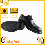 Genuine Leather Black Men Office Shoes