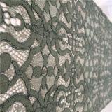 Хлопок цветка новой конструкции красивейший/Nylon ткань шнурка (WH7259-YC)