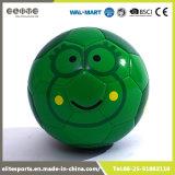 Esfera de futebol de borracha dos desenhos animados da bexiga com 2 forros