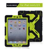 caixa colorida da tampa do portátil da proteção 3-Layers para o iPad mini