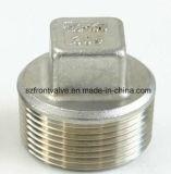 Il pezzo fuso di investimento/precisione che lancia l'acciaio inossidabile ha avvitato la spina quadrata