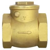 NPT /BSPT Screw Brass Gate Valve mit Cer