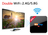 Wechipの熱い販売H96プロ2GB RAM 16GB ROM S912 Kodi 16.1 4k HDのアンドロイド6.0細いボックスTVのスマートなメディアプレイヤー
