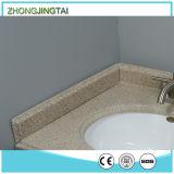 Material artificial do respingo Integrated do lado da bancada do banheiro
