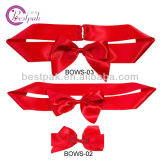 Invitation를 위한 2016 신식 Elegant Red Satin Bows