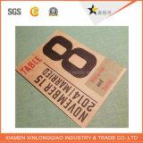 Collants de bouteille de logo de vin de service personnalisés par amende de papier d'imprimerie d'étiquette