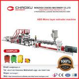 Plastikblatt-Strangpresßling-Zeile für die ABS einlagig, gute Qualität