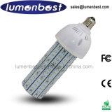 3 años de la garantía 120W LED de lámpara de aluminio del maíz