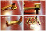 Populäres Entwurfs-Rosen-Goldaußentür-Griff-Set