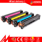 CB540A / CB541 / CB542 / CB543 China Factory Cor cartucho de toner para HP CB540A 541 542 543 para HP Color LaserJet CP1215 / 1515n / 1518ni (AS-CB540 / 541/542/543)