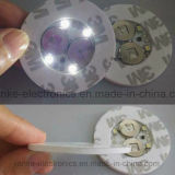 Promocional de luz LED arriba Etiqueta Botella con el logotipo impreso (4040)