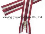 Zipper 5# de nylon longo com a fita reflexiva para ao ar livre