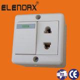 Soquete de 2 Pin com interruptor