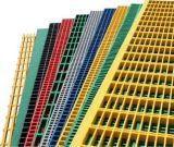 FRP/GRP moldeado rallando 50X50m m, hoja el rallar, los paneles, Walkays, plataforma