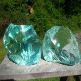 Roche en verre colorée de fournisseur expert de la Chine pour Gabion