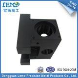 Pezzi meccanici di CNC di abitudine Al6061 di precisione con nero anodizzati (LM-1167A)