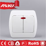 Switch doble con Lighting, Energía-ahorro Power Button Switch