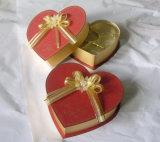 Cajas lindas de la lata del metal de la caja de regalo del chocolate del papel acanalado pequeñas