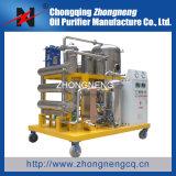 Type van roestvrij staal gebruikte de Hydraulische Filter van de Olie/Olie Recyclerend het Filtreren Machine/Oil