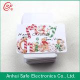 Scheda opaca in bianco del PVC di formato standard Cr80 stampabile sulla stampante di getto di inchiostro
