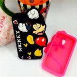 Mickeyは小型LG G3のためのシリコーンの電話箱を模倣する(XSD-008)