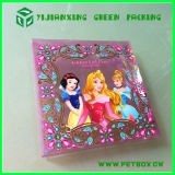 Pet di plastica Printing Box Scarf Packaging con Embossing Effect
