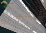 Nesto weiße hölzerne Marmorplatte-hölzernes Korn