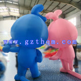 Lovely Oxford Cloth Inflatable Cartoon / Cartoon Inflatable Model
