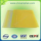 Feuille époxy d'isolation de stratifié de tissu en verre