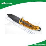 Складной фиксируя нож Poket с ручкой анодированной золотом