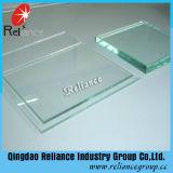 19mmのCe/ISOの証明書が付いている明確なフロートガラス(temperable)