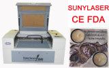 Machine de gravure de laser de résine de CO2 de vitesse rapide avec la doublure Guider
