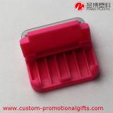 Producto de limpieza de discos rosado de la pantalla del teléfono móvil del color con el sostenedor