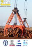 New moteur électrique mécanique Grab Corde de bois, bois hydraulique Grab