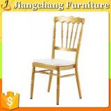 Cadeira Stackable de alumínio Jc-Zj626 de Chiavari do hotel do ouro