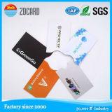 Buen funcionamiento RFID que bloquea el sostenedor de la tarjeta de crédito de aluminio