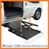 Ce Scissor en Hydraulic Wheelchair Lift voor Van en Minibuswith Loading Capacity 350kg