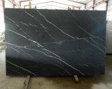 Plak van uitstekende kwaliteit van de Decoratie van de Muur van het Graniet Marquina van de Fantasie Nero de Zwarte