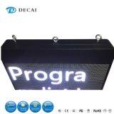 Sinal do diodo emissor de luz da caixa do anúncio P6 ao ar livre