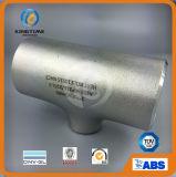 Té réducteur en acier de solides solubles. Ajustage de précision de pipe de Wp316/316L (KT0080)