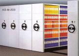 Alta estantería de la biblioteca móvil de Denisty