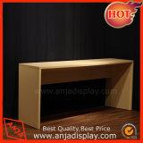 Muebles de madera de madera del estante de visualización