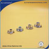 DIN1624 noix galvanisées des meubles T