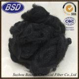 Competitiva promocional de alta tenacidade de poliéster preto PSF fibra de grampo