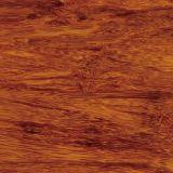 14mm Stärke karbonisierter fester Strandwoven Bambusbodenbelag