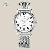 Relógio luxuoso do bracelete do aço inoxidável, relógio 72168 do negócio dos homens